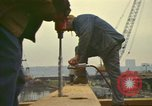 Image of construction site New York City USA, 1972, second 12 stock footage video 65675065609
