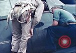Image of American pilots Pacific Theater, 1944, second 2 stock footage video 65675065675