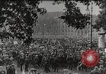Image of Germans demonstrate for repatriation of POWs held by France Berlin Germany, 1919, second 1 stock footage video 65675065687