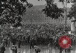 Image of Germans demonstrate for repatriation of POWs held by France Berlin Germany, 1919, second 2 stock footage video 65675065687