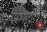 Image of Germans demonstrate for repatriation of POWs held by France Berlin Germany, 1919, second 3 stock footage video 65675065687