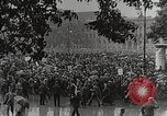 Image of Germans demonstrate for repatriation of POWs held by France Berlin Germany, 1919, second 4 stock footage video 65675065687