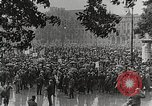 Image of Germans demonstrate for repatriation of POWs held by France Berlin Germany, 1919, second 5 stock footage video 65675065687