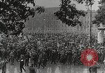 Image of Germans demonstrate for repatriation of POWs held by France Berlin Germany, 1919, second 6 stock footage video 65675065687