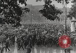 Image of Germans demonstrate for repatriation of POWs held by France Berlin Germany, 1919, second 7 stock footage video 65675065687