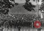 Image of Germans demonstrate for repatriation of POWs held by France Berlin Germany, 1919, second 8 stock footage video 65675065687