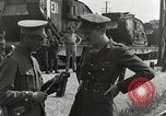 Image of Archibald Percival Wavell Oppeln Upper Silesia, 1921, second 6 stock footage video 65675065689