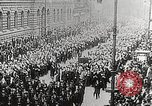 Image of Czechoslovakian Independence celebrations Prague Czechoslovakia, 1918, second 3 stock footage video 65675065692