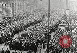 Image of Czechoslovakian Independence celebrations Prague Czechoslovakia, 1918, second 10 stock footage video 65675065692