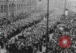 Image of Czechoslovakian Independence celebrations Prague Czechoslovakia, 1918, second 12 stock footage video 65675065692