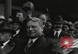 Image of Senator Hiram Johnson Chicago United States USA, 1920, second 8 stock footage video 65675065693