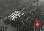 Image of Draped funeral float Europe, 1920, second 10 stock footage video 65675065694