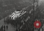 Image of Draped funeral float Europe, 1920, second 11 stock footage video 65675065694