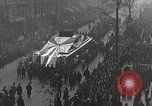 Image of Draped funeral float Europe, 1920, second 12 stock footage video 65675065694