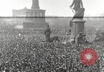 Image of Germans demonstrate against Treaty of Versailles Berlin Germany, 1919, second 1 stock footage video 65675065699