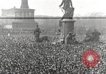 Image of Germans demonstrate against Treaty of Versailles Berlin Germany, 1919, second 2 stock footage video 65675065699
