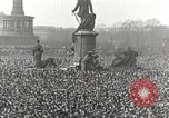Image of Germans demonstrate against Treaty of Versailles Berlin Germany, 1919, second 3 stock footage video 65675065699