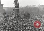 Image of Germans demonstrate against Treaty of Versailles Berlin Germany, 1919, second 4 stock footage video 65675065699