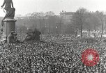 Image of Germans demonstrate against Treaty of Versailles Berlin Germany, 1919, second 6 stock footage video 65675065699