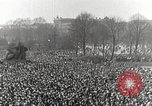 Image of Germans demonstrate against Treaty of Versailles Berlin Germany, 1919, second 8 stock footage video 65675065699