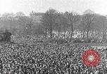 Image of Germans demonstrate against Treaty of Versailles Berlin Germany, 1919, second 9 stock footage video 65675065699