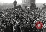 Image of Germans demonstrate against Treaty of Versailles Berlin Germany, 1919, second 10 stock footage video 65675065699