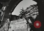Image of damaged Reichstag Berlin Germany, 1945, second 7 stock footage video 65675065701