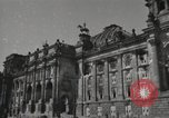 Image of damaged Reichstag Berlin Germany, 1945, second 8 stock footage video 65675065702