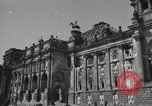 Image of damaged Reichstag Berlin Germany, 1945, second 9 stock footage video 65675065702
