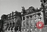Image of damaged Reichstag Berlin Germany, 1945, second 12 stock footage video 65675065702