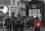 Image of German civilians Berlin Germany, 1953, second 3 stock footage video 65675065727