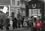 Image of German civilians Berlin Germany, 1953, second 5 stock footage video 65675065727