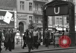 Image of German civilians Berlin Germany, 1953, second 7 stock footage video 65675065727