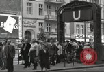 Image of German civilians Berlin Germany, 1953, second 8 stock footage video 65675065727