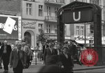 Image of German civilians Berlin Germany, 1953, second 11 stock footage video 65675065727
