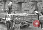 Image of removing rubble Berlin Germany, 1953, second 5 stock footage video 65675065728