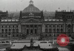 Image of Reichstag Berlin Germany, 1932, second 1 stock footage video 65675065736