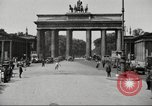 Image of skater Berlin Germany, 1932, second 2 stock footage video 65675065737