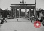 Image of skater Berlin Germany, 1932, second 3 stock footage video 65675065737