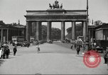 Image of skater Berlin Germany, 1932, second 4 stock footage video 65675065737