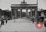 Image of skater Berlin Germany, 1932, second 5 stock footage video 65675065737