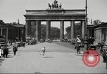 Image of skater Berlin Germany, 1932, second 7 stock footage video 65675065737