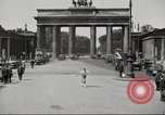 Image of skater Berlin Germany, 1932, second 8 stock footage video 65675065737