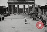 Image of skater Berlin Germany, 1932, second 9 stock footage video 65675065737
