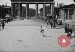 Image of skater Berlin Germany, 1932, second 10 stock footage video 65675065737
