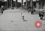Image of skater Berlin Germany, 1932, second 11 stock footage video 65675065737