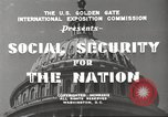 Image of Social Security Board United States USA, 1939, second 7 stock footage video 65675065738