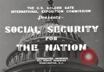 Image of Social Security Board United States USA, 1939, second 10 stock footage video 65675065738