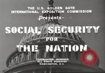 Image of Social Security Board United States USA, 1939, second 12 stock footage video 65675065738