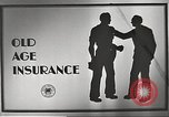 Image of old age insurance United States USA, 1939, second 3 stock footage video 65675065740
